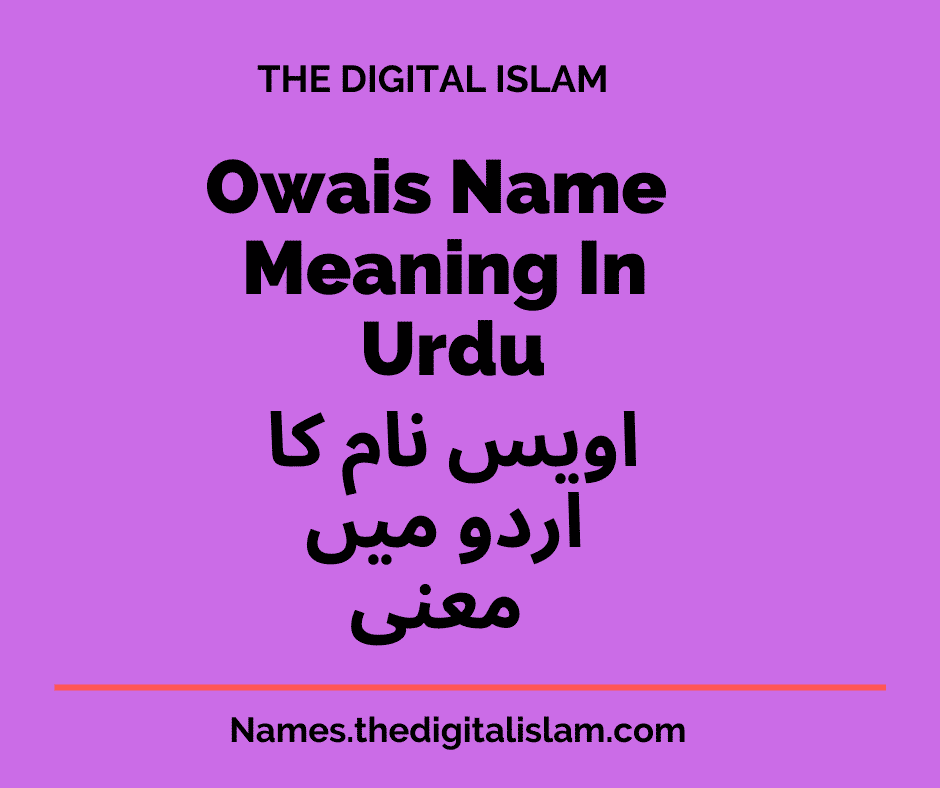 Owais Name Meaning In Urdu